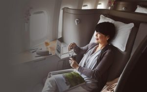 01 Cathay Pacific Airways First Class
