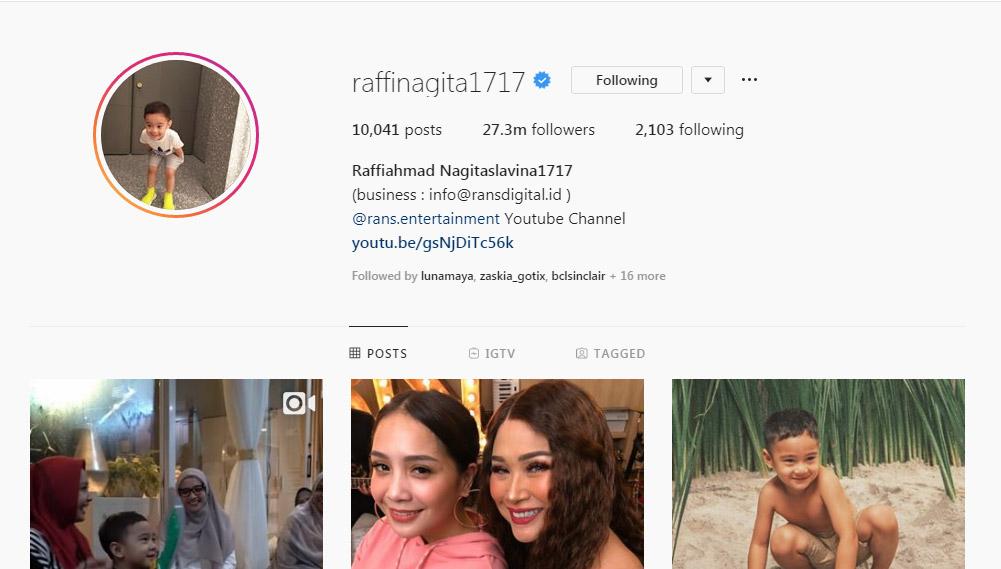 10 Artis Indonesia Dengan Follower Instagram Terbanyak