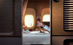 03 Emirates First Class Dinning