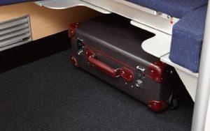 07 ANA All Nippon Airways storage under the ottoman