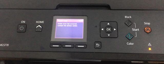 Cara mengatasi error 5b00 canon pigma mg5770
