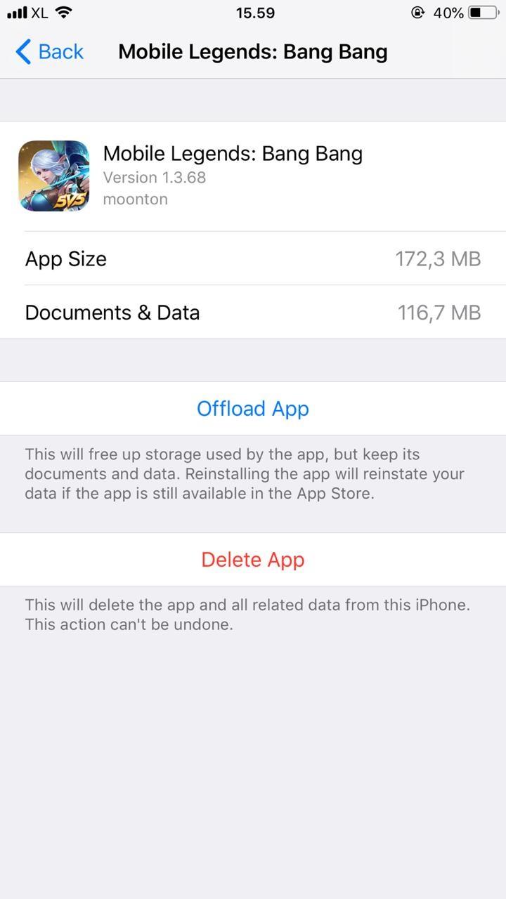 Cara Membuat Akun Baru Mobile Legend di IOS - Iphone