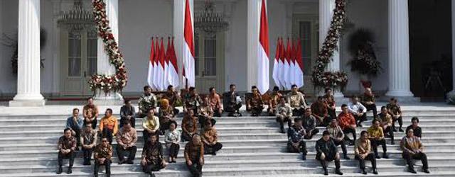 daftar kabinet jokowi 2019 - daftar menteri jokowi 2019 - dunia hatori